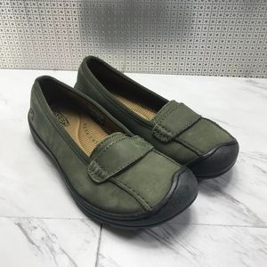 Keen suede loafers flats shoes